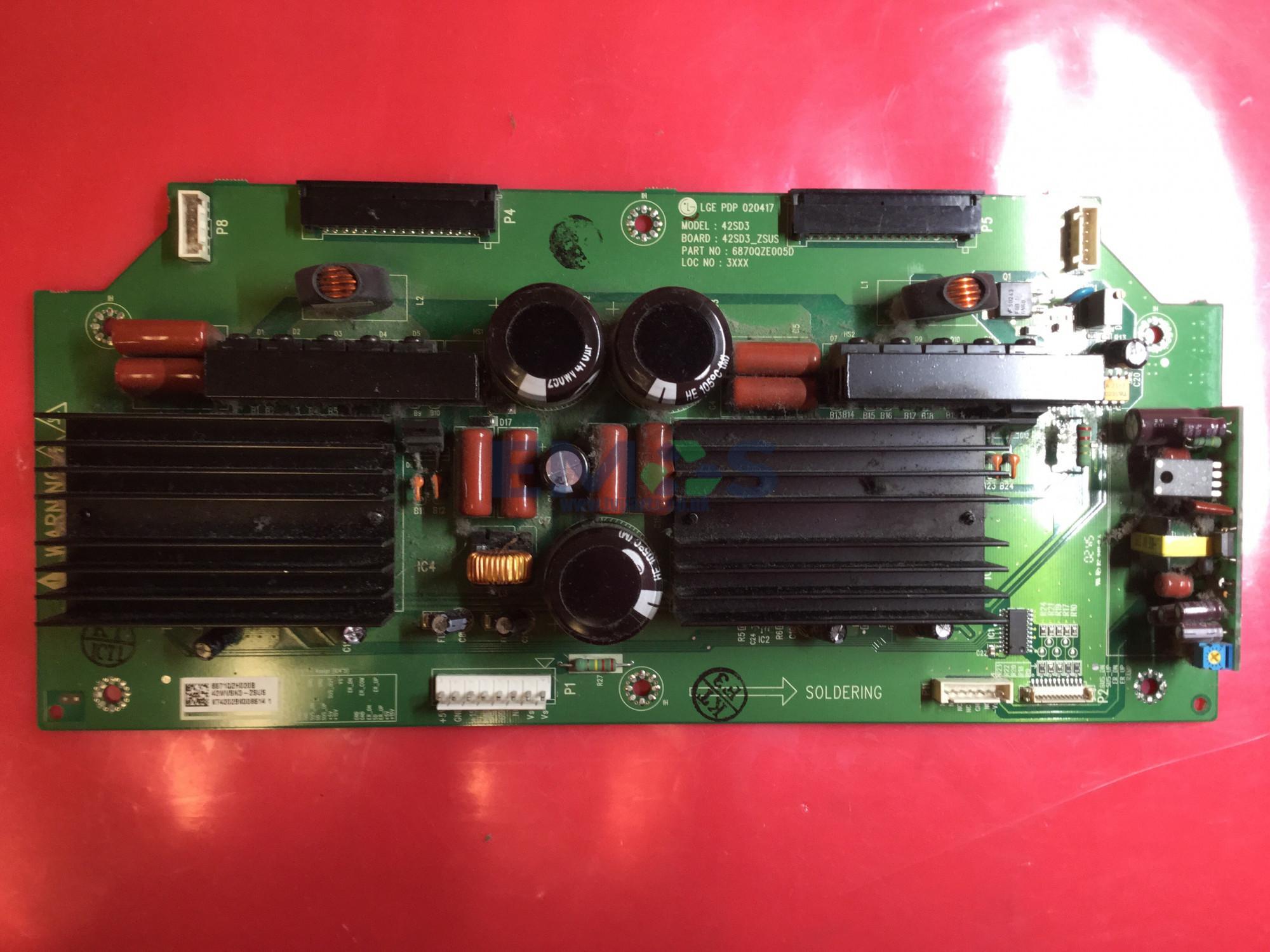 LG Z-SUS board 6870QZE005D   6871QZH020B