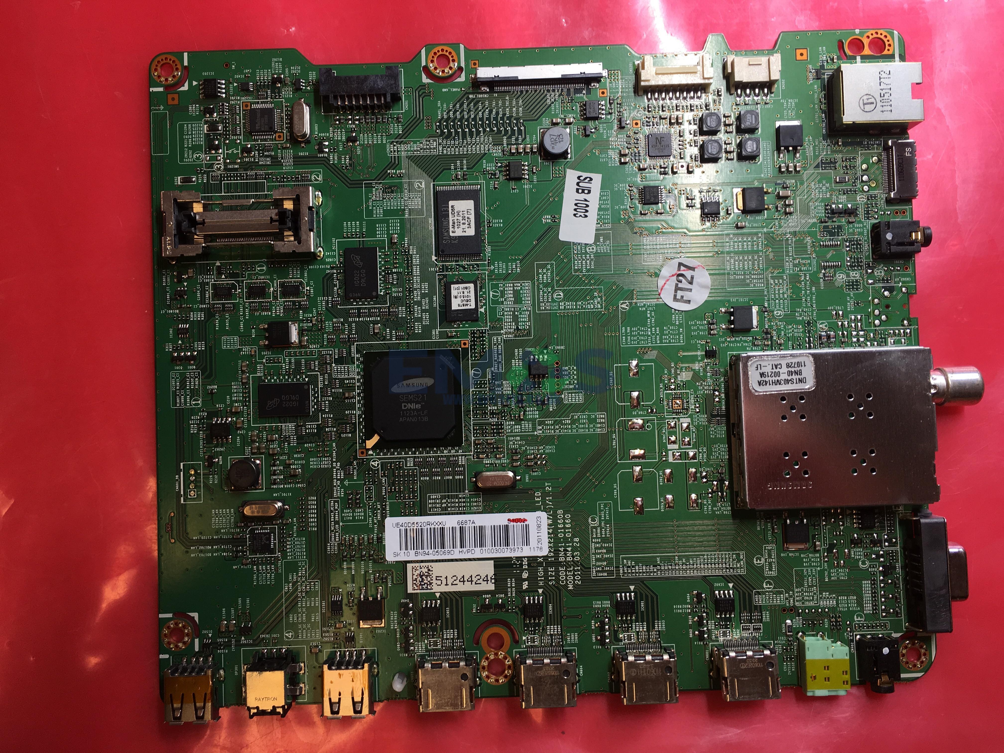 BN41-01660B BN94-05069D SAMSUNG UE40D5520 MAIN BOARD